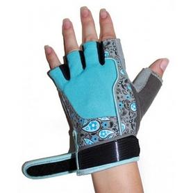 Фото 3 к товару Перчатки для фитнеса женские RDX Ladies Gel Gym Gloves Blue