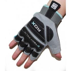 Фото 4 к товару Перчатки для фитнеса женские RDX Ladies Gel Gym Gloves Blue