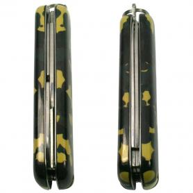 Фото 4 к товару Нож швейцарский Ego Tools A03 камуфлированный