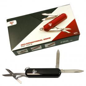 Нож швейцарский Ego Tools A03 черный