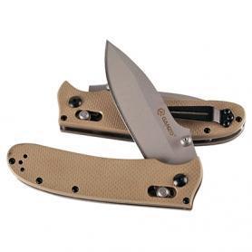 Фото 2 к товару Нож складной Ganzo G704 желтый