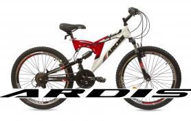 """Велосипед горный Ardis Striker 777 AMT 26"""" бело-красный, рама - 16"""""""