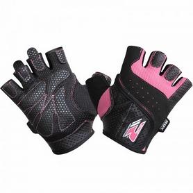Фото 3 к товару Перчатки для фитнеса женские RDX Ladies Lifting Gloves Pink