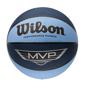 Фото 1 к товару Мяч баскетбольный Wilson MVP blu/bla SZ7 SS15