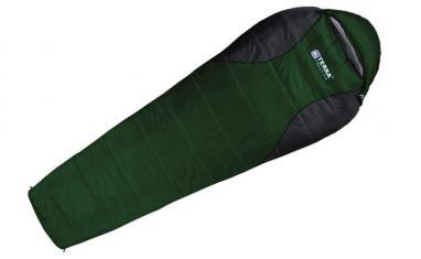 Мешок спальный (спальник) Terra Incognita Pharaon Evo 400 левый темно-зеленый