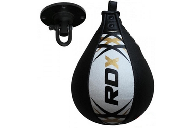 Пневмогруша боксерская RDX Leather 30306-rdx White