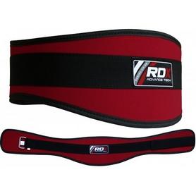 Фото 1 к товару Пояс для тяжелой атлетики RDX 20403 Red