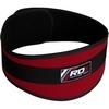 Пояс для тяжелой атлетики RDX 20403 Red - фото 2