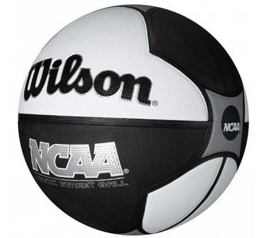 Мяч баскетбольный Wilson NCAA 29.5 Havoc Black/Whi SS12