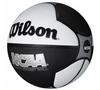 Мяч баскетбольный Wilson NCAA 29.5 Havoc Black/Whi SS12 - фото 1