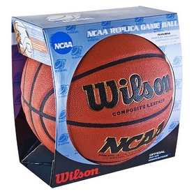 Фото 2 к товару Мяч баскетбольный Wilson NCAA Replica Game Basketb SS15