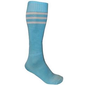 Гетры футбольные мужские CO-120 голубые