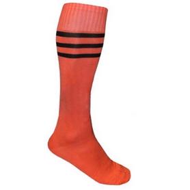 Гетры футбольные мужские CO-120 оранжевые