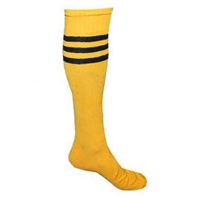 Фото 1 к товару Гетры футбольные мужские CO-120 желтые