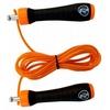 Скакалка нейлоновая RDX Steel Gel 11607-rdx оранжевая - фото 1
