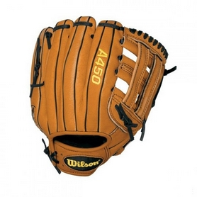 Фото 1 к товару Распродажа*! Перчатка-ловушка бейсбольная Wilson A450 Wright BBG 11