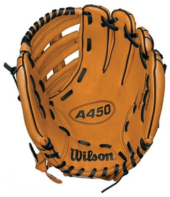 Фото 2 к товару Распродажа*! Перчатка-ловушка бейсбольная Wilson A450 Wright BBG 11