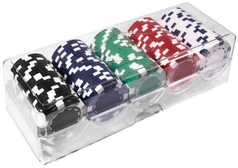 Набор для игры в покер (100 фишек) 100-S5