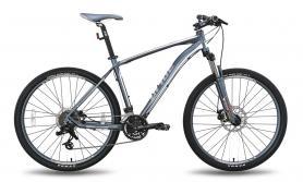 """Велосипед горный Pride XC-650 MD 27,5"""" черно-серый матовый 2015 рама - 21"""""""