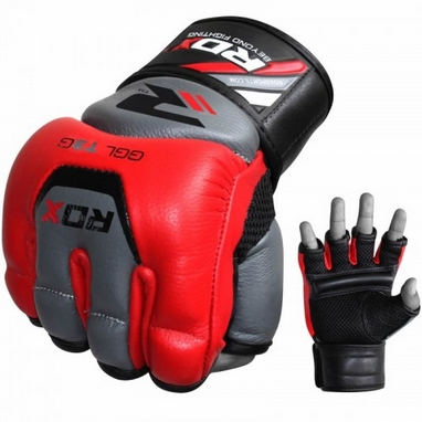 Шингарты RDX Leather Red