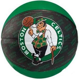 Фото 2 к товару Мяч баскетбольный резиновый Spalding NBA Team Basketball-Celtics 73935Z