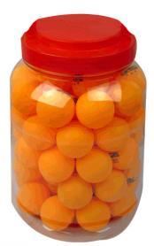 Набор мячей для настольного тенниса Champion 60 шт. оранжевые
