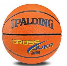 Мяч баскетбольный резиновый Spalding Cross Over 73911Z