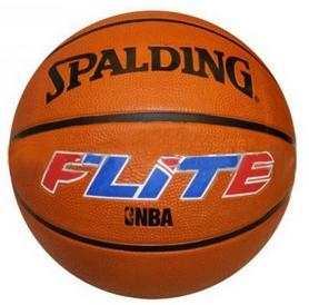 Мяч баскетбольный резиновый Spalding Flite Brick 73917Z