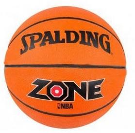Фото 1 к товару Мяч баскетбольный резиновый Spalding Zone Brick 73923Z