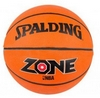 Мяч баскетбольный резиновый Spalding Zone Brick 73923Z - фото 1