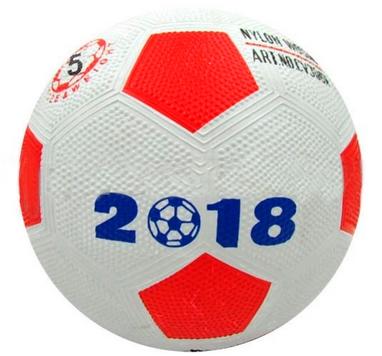 Мяч футбольный резиновый World Cup 2018 CV305N