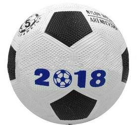 Фото 5 к товару Мяч футбольный резиновый World Cup 2018 CV305N