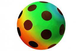 Фото 1 к товару Мяч резиновый ZLT Rainbow