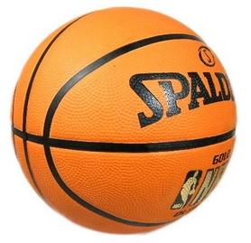 Фото 3 к товару Мяч баскетбольный резиновый Spalding NBA Gold Outdoor 73299Z