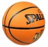 Мяч баскетбольный резиновый Spalding NBA Gold Outdoor 73299Z - фото 3