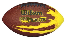 Мяч для американского футбола Wilson NCAA Hot Route Junior Football XB SS15