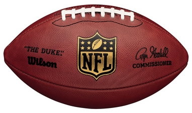 Мяч для американского футбола Wilson NFL Duke Game Ball SS15