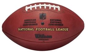Фото 2 к товару Мяч для американского футбола Wilson NFL Duke Game Ball SS15