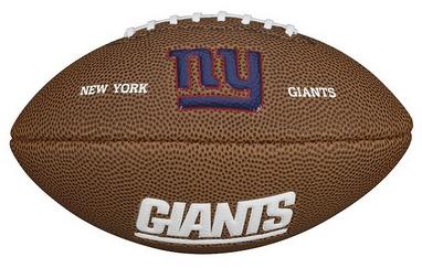 Мяч для американского футбола Wilson NFL Mini Team Logo Football NG SS15