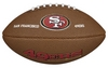 Мяч для американского футбола Wilson NFL Mini Team Logo Football SF SS15 - фото 1