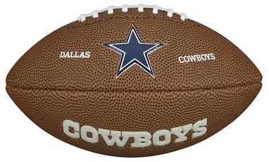 Мяч для американского футбола Wilson NFL Mini Team Logo Football DL SS15