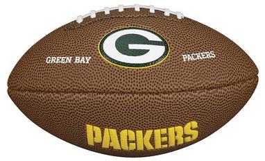 Мяч для американского футбола Wilson NFL Mini Team Logo Football GB SS15