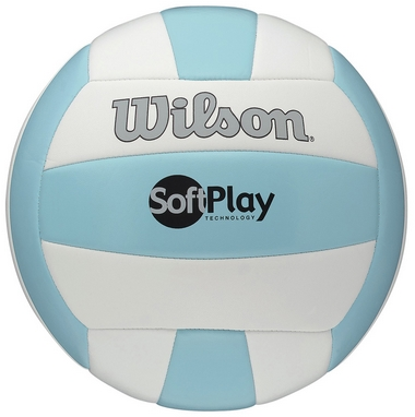 Мяч волейбольный Wilson Soft Play Volleyball Blue/White SS15