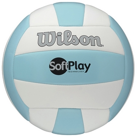 Мяч волейбольный Wilson Soft Play Volleyball Blue/White SS15
