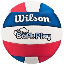 Фото 1 к товару Мяч волейбольный Wilson Super Soft Play Volleyball RDWHBL Bulk SS14