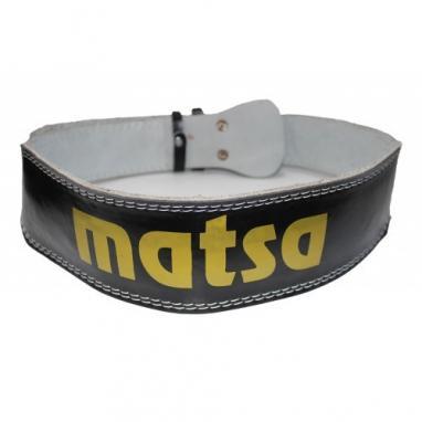 Пояс тяжелоатлетический узкий MATSA MA-0041