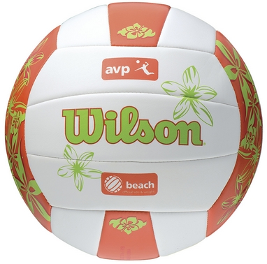 Мяч волейбольный Wilson AVP Floral Volleyball Orange SS14