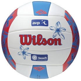 Мяч волейбольный Wilson AVP Floral Volleyball Blue SS15