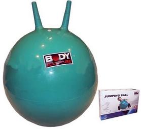 Мяч попрыгун с рожками Body Sculpture 45 см