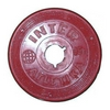 Диск пластиковый 0,5 кг Inter Atletika цветной - 26 мм - фото 1